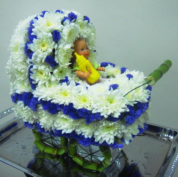 Фото фигурок из живых цветов